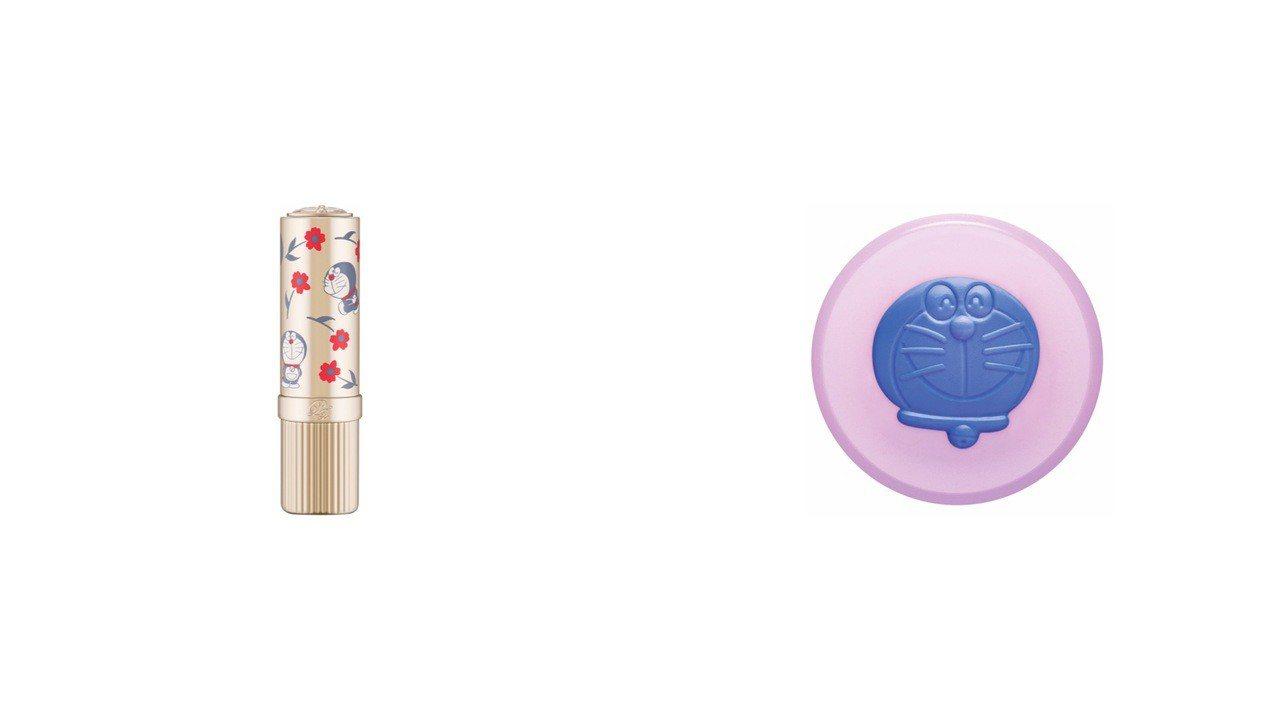 「忠孝館獨賣」PAUL & JOE哆啦A夢限量唇膏藍色版,售價1,250元,限量...