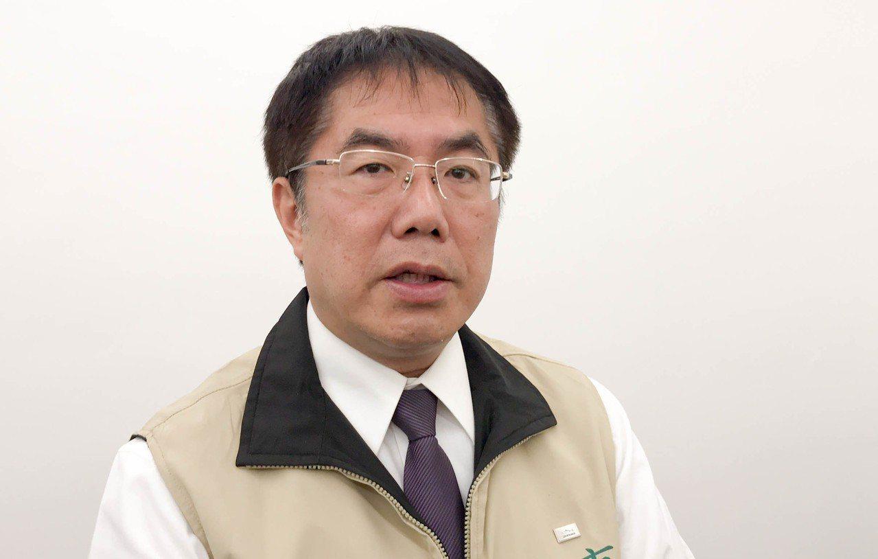 台南市長黃偉哲就任3個月後,今天公布首波區長異動名單。記者鄭維真/攝影