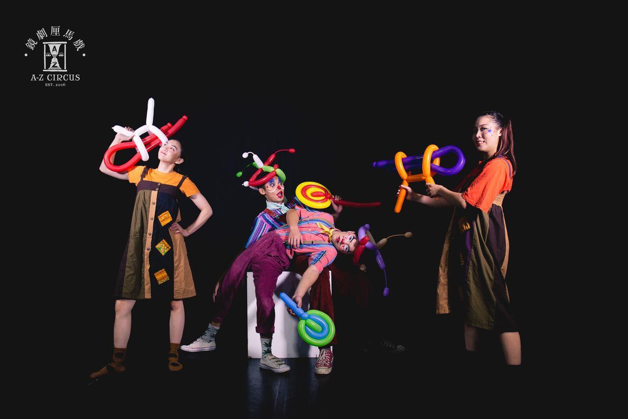 歡慶兒童節,宜蘭傳藝於4月6日到7日兩天推出兒童馬戲體驗。圖/鏡劇厘馬戲
