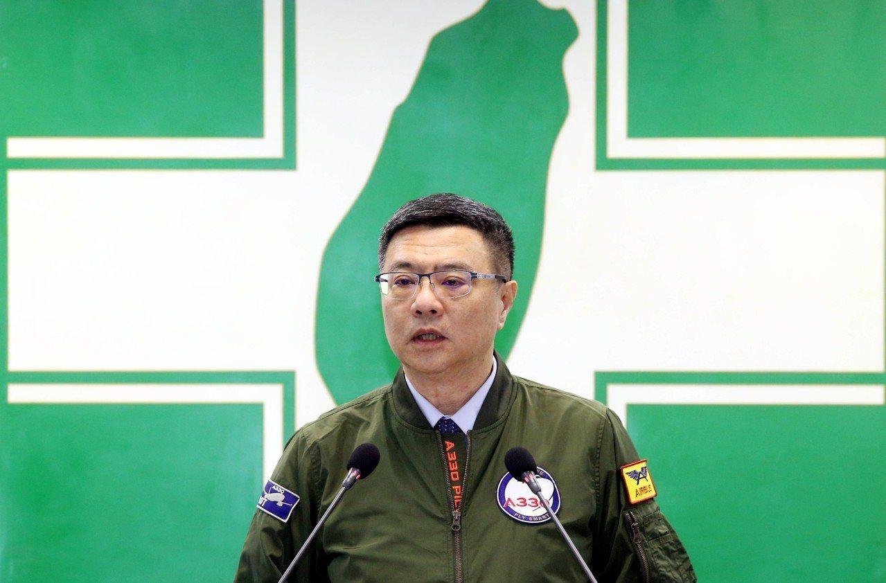 民進黨主席卓榮泰。聯合報系資料照片/記著林俊良攝影