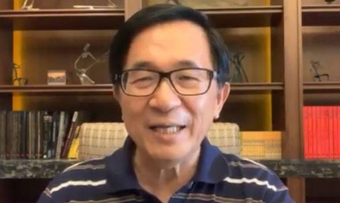 3日凌晨,陳水扁在臉書回嗆藍營,「人如果不怕關,最大」。 圖/翻攝自陳水扁臉書