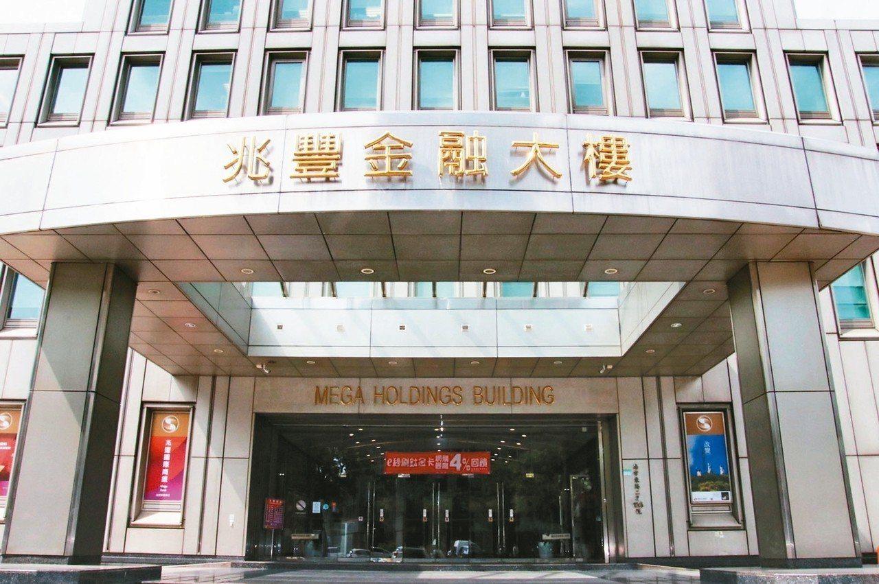 兆豐金控總部大樓外觀。 (本報系資料庫)