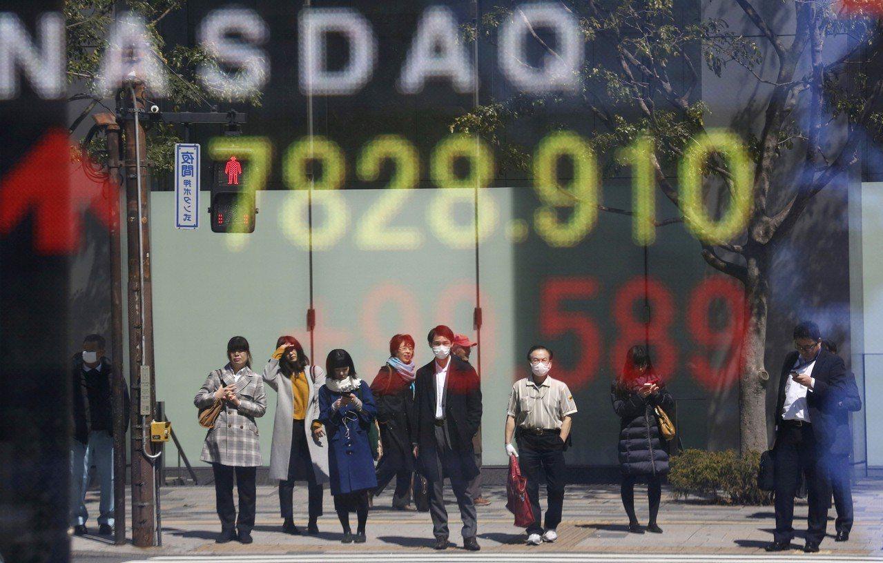 亞洲股市今天再度收漲。 美聯社