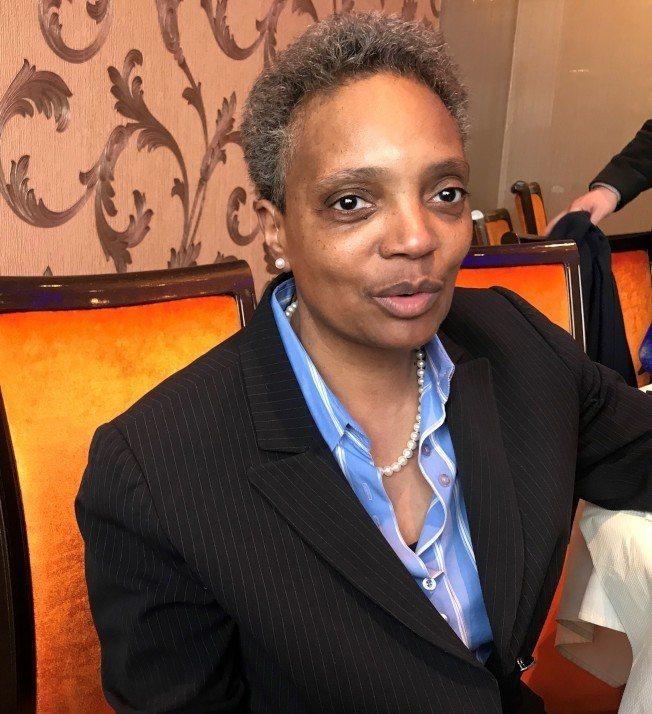 芝加哥首位非裔女同志市長萊特福特。(特派員黃惠玲/攝影)