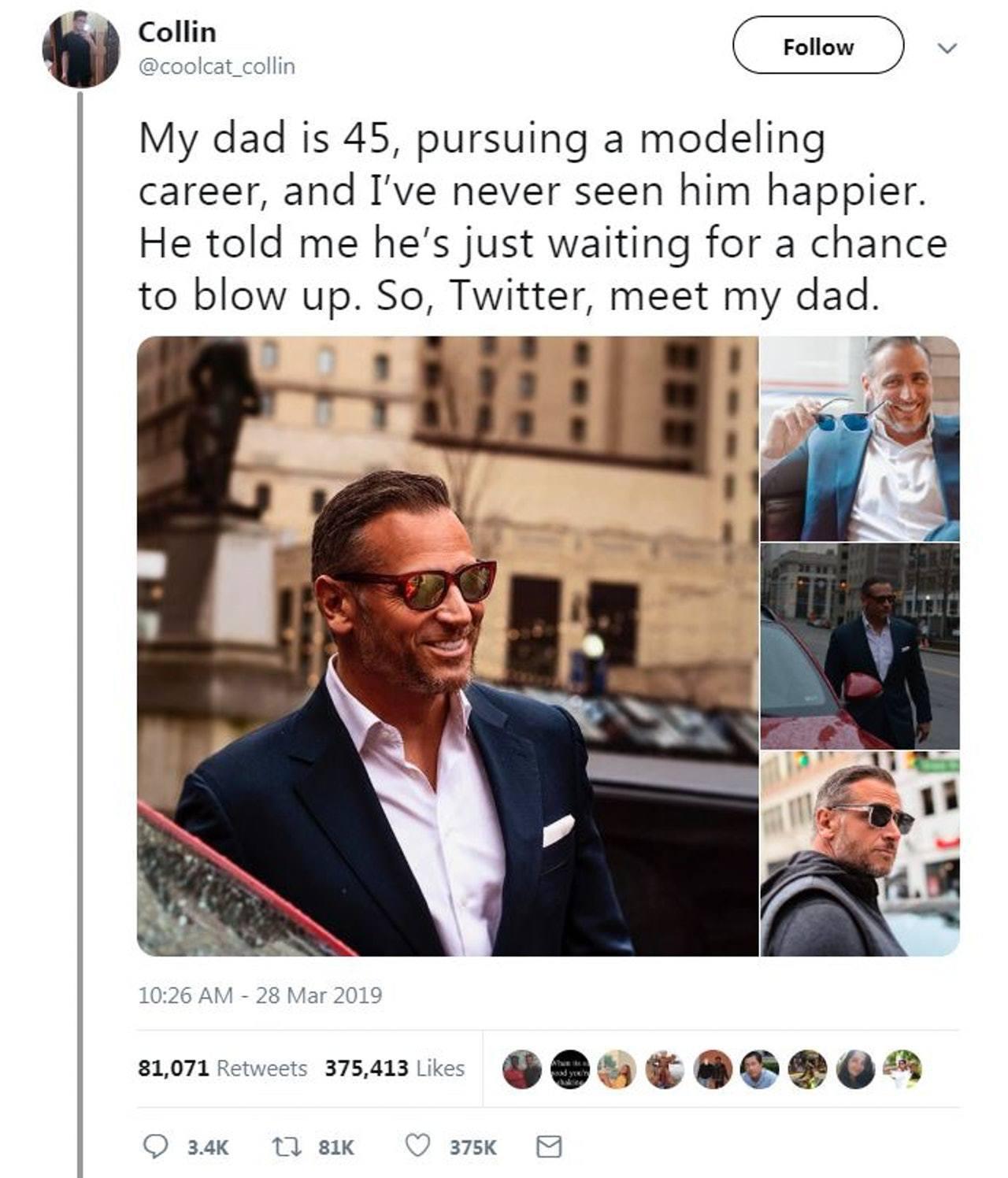 海斯利特的推文獲轉發超過8萬次,錄得37萬多個讚好。圖/翻攝自Twitter