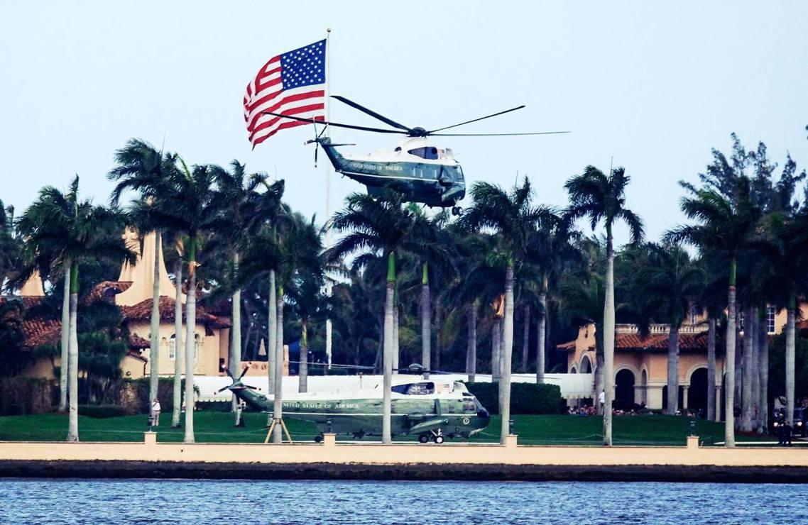 上周六,川普總統在佛羅里達州的私人渡假俱樂部「海湖莊園」(Mar-a-Lago)...