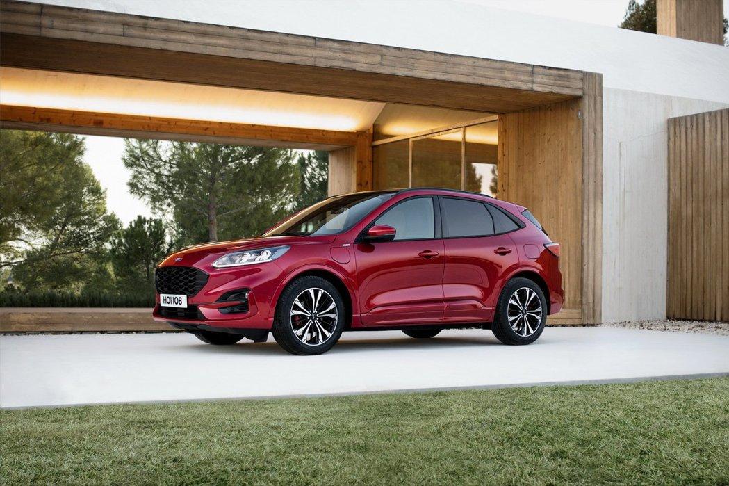 第三代Ford Kuga發表日期接近。 摘自Ford