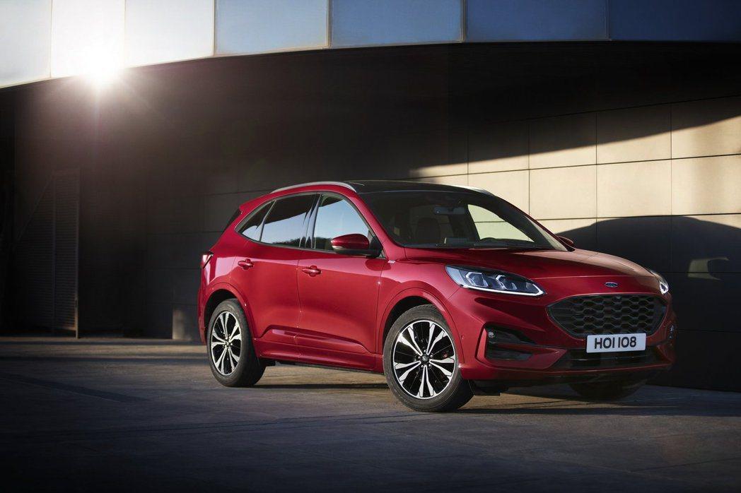 第三代Ford Kuga也提供Hybrid油電混合動力車型。 摘自Ford