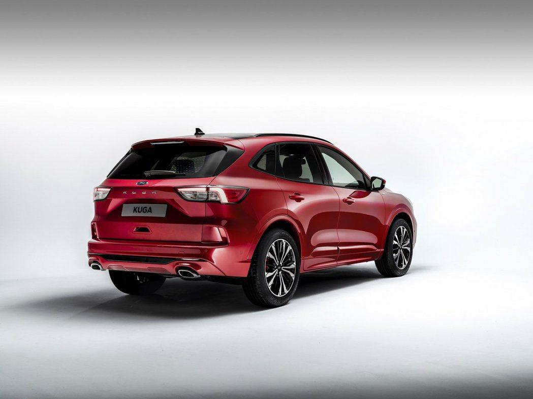 第三代Ford Kuga新增電能輔助車型後,讓車輛可選擇的動力豐富許多。 摘自F...