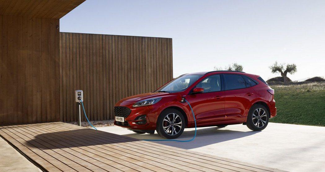 新世代Ford Kuga預計明年上半年在台灣市場發表。 摘自Ford