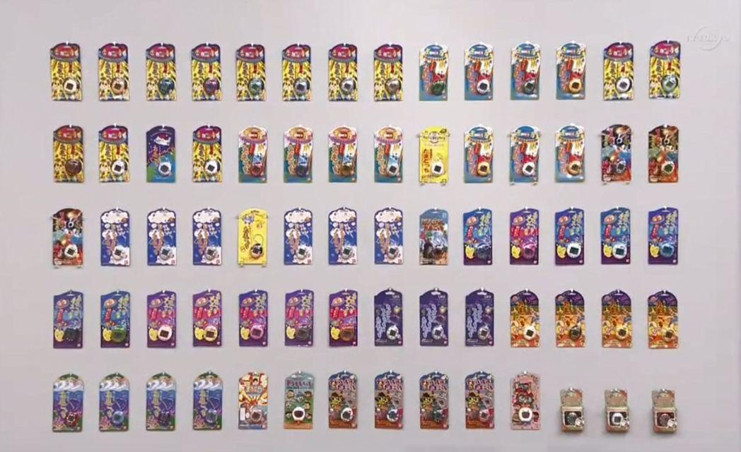 這些都是後藤先生的蒐藏,70款1996年~1998年間發售的絕版電子雞。 圖片來...