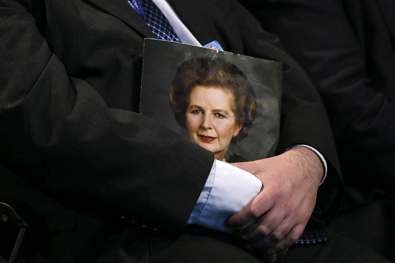 英國前首相柴契爾夫人有句名言:公投是獨裁者和煽動者的工具。 圖/路透社