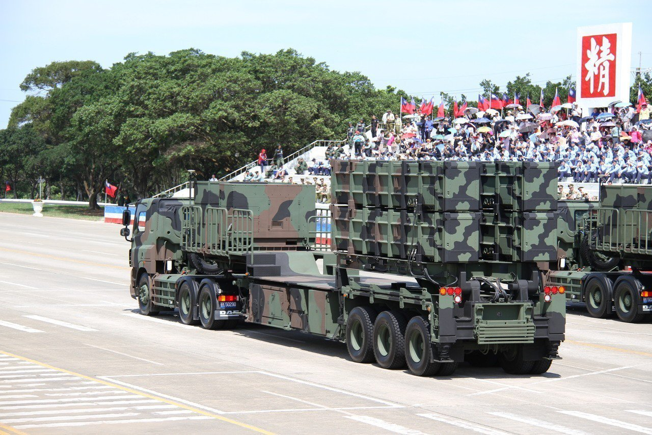 機動型雄風三型反艦飛彈。記者洪哲政/攝影