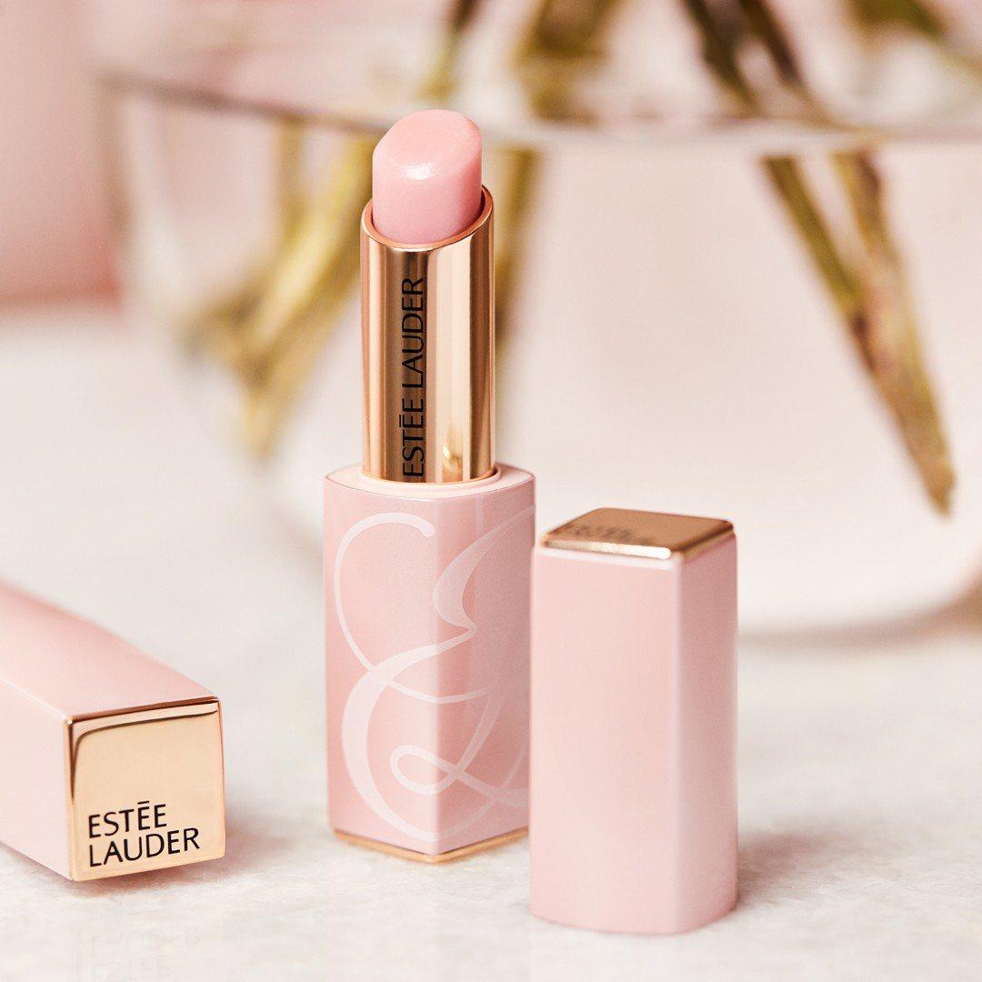 粉嫩慾望潤色護唇膏,1,100元。圖/雅詩蘭黛提供