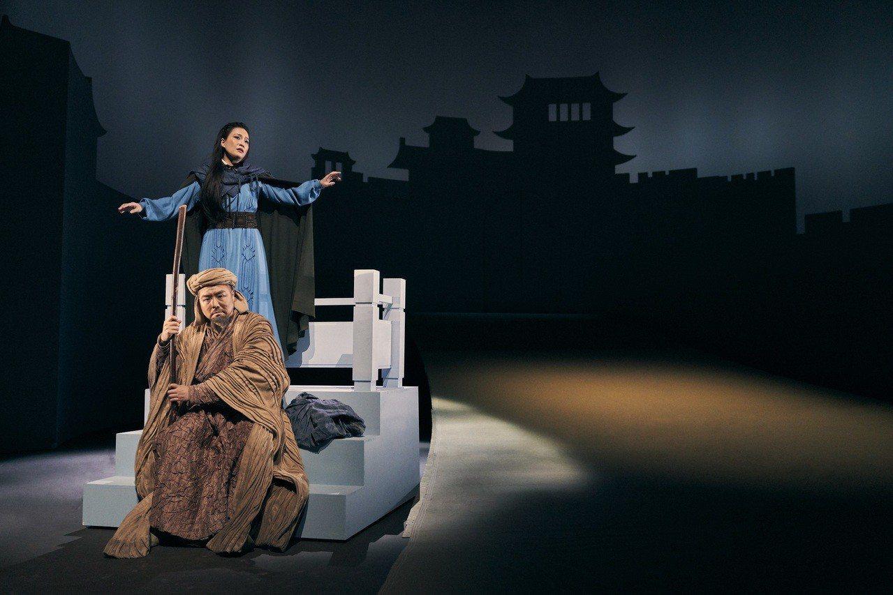 台德共製經典歌劇《杜蘭朵》劇照。圖/衛武營國家藝術文化中心提供
