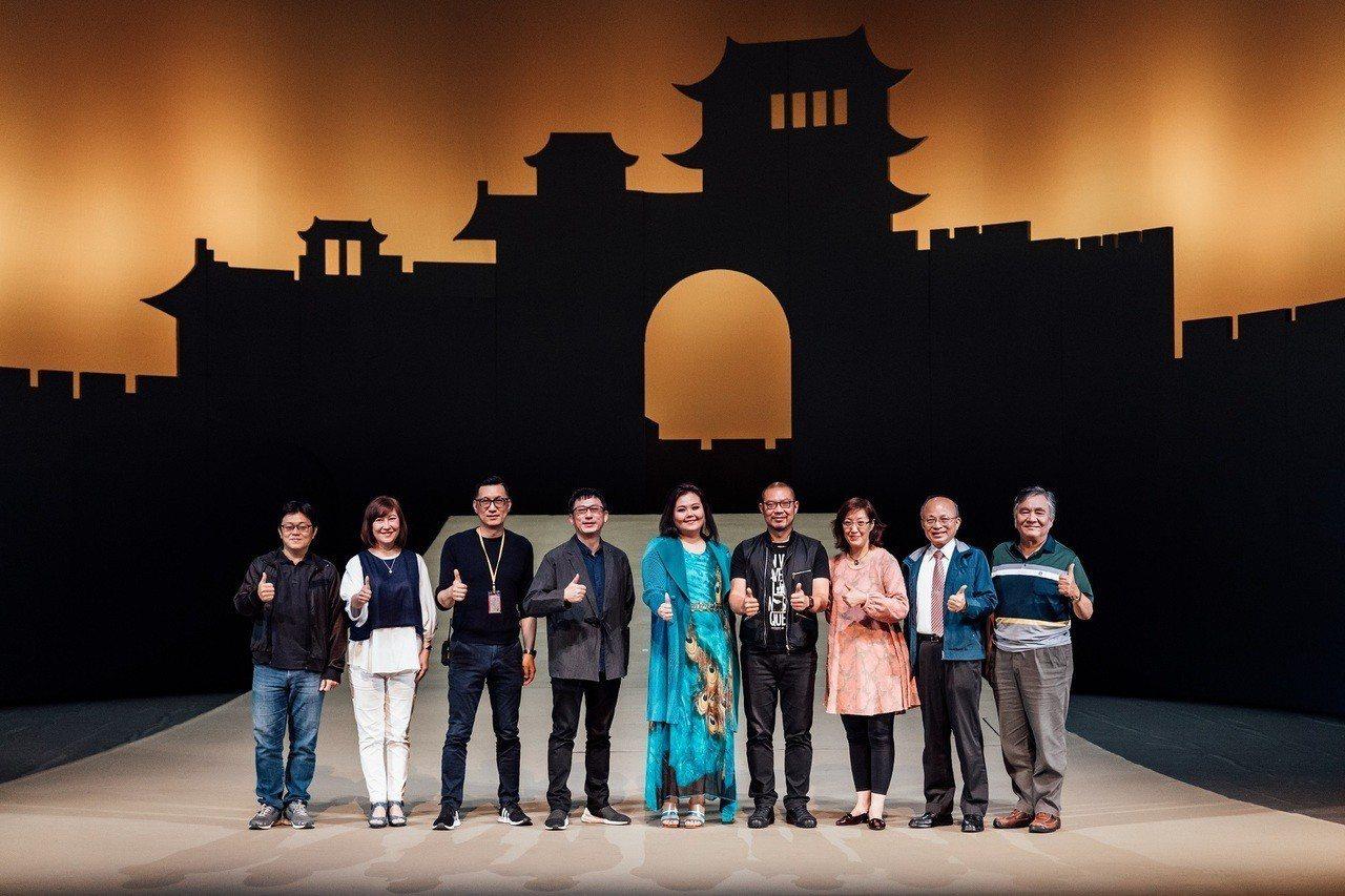 台德共製經典歌劇《杜蘭朵》,製作、創意團隊全部來自台灣。圖/衛武營國家藝術文化中...