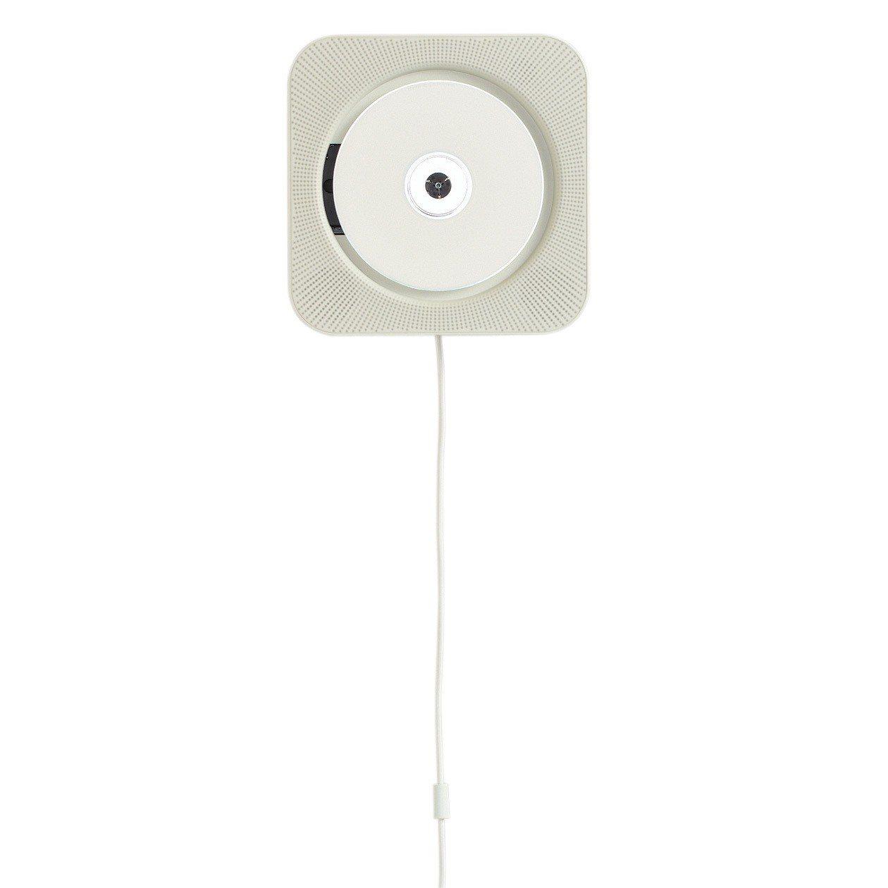 MUJI無印良品壁掛式CD音響,售價4,980元。圖/無印良品提供