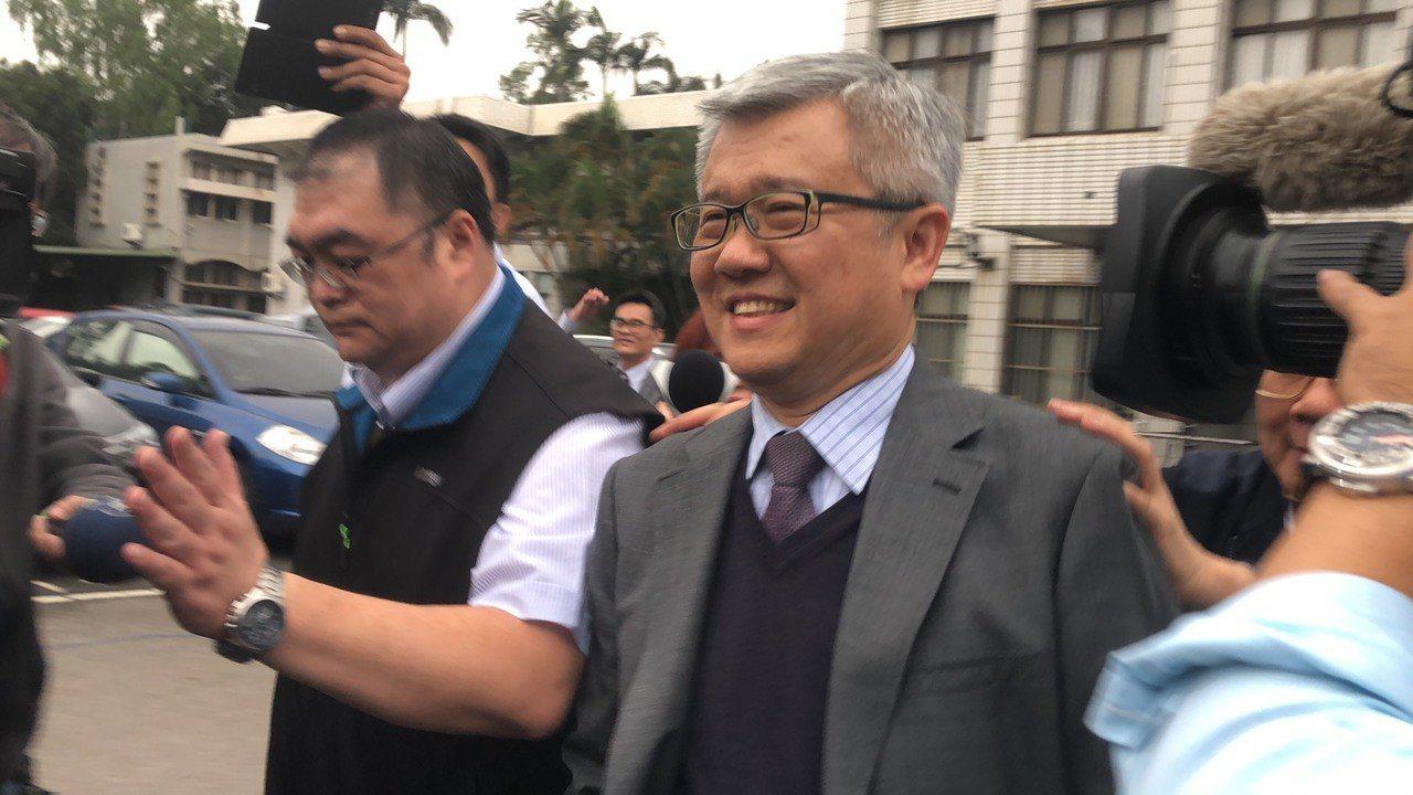 張煥禎在法庭上以5點聲明表示自己沒關說。記者曾健祐/攝影