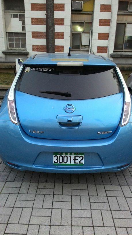 中市電動車可免費停車 但要先註記車牌