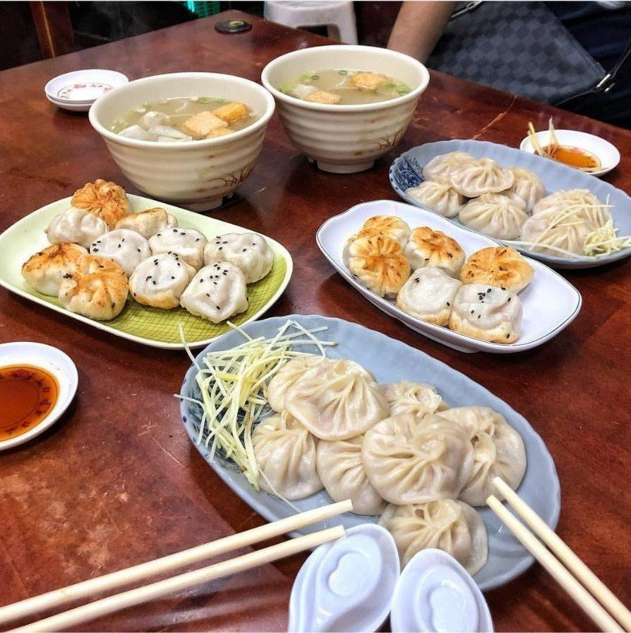 南台灣網友推薦高雄「上海生煎湯包」。圖/IG @lu1330提供