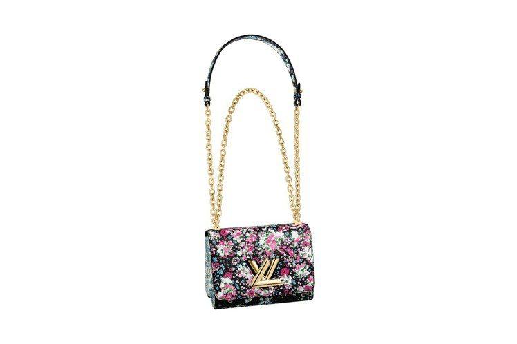 早秋Twist手袋有倫敦精品百貨Liberty London的花卉印花款式。圖/...