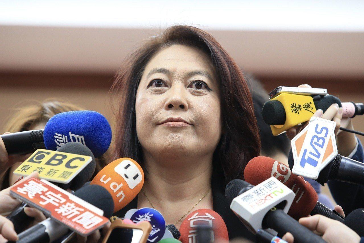 行政院長蘇貞昌表示,NCC主委詹婷怡(圖)辭職信提到,「希望我能准她辭職」。 圖...