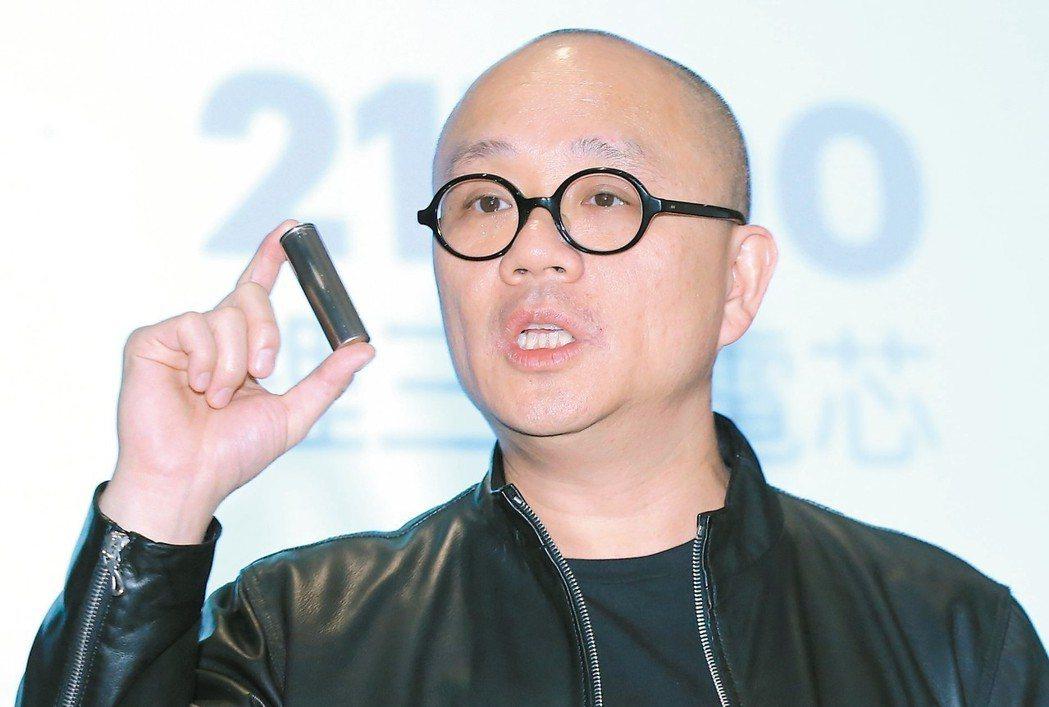 Gogoro執行長陸學森。 記者曾學仁/攝影