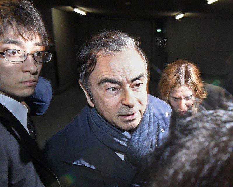 東京地檢再度逮捕日產前董座戈恩 美聯社