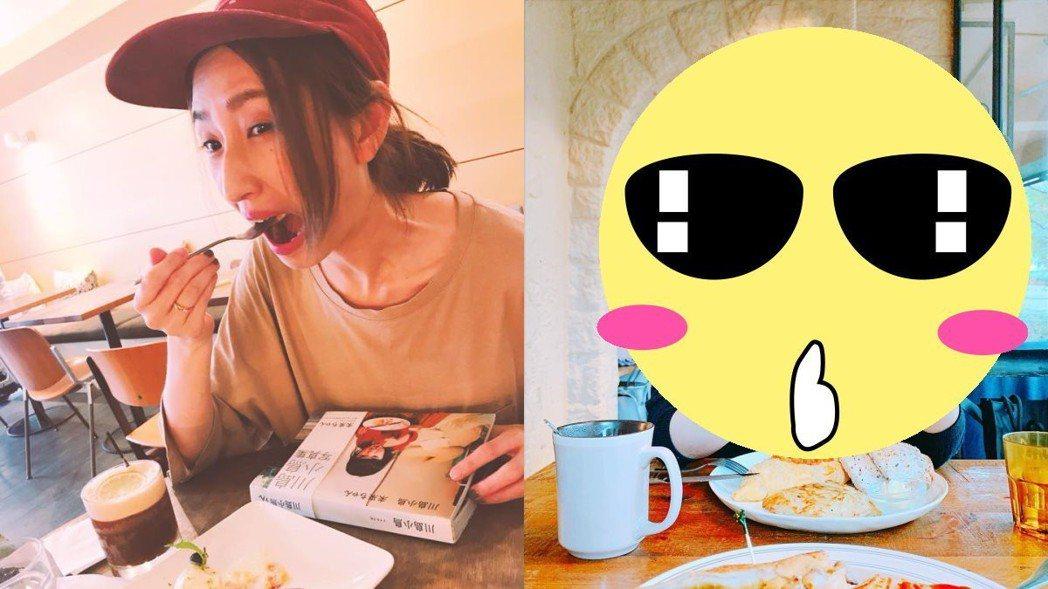 坤達過去總把柯佳嬿拍很醜(左),現在則可以拍出美照(右)。 圖/摘自坤達臉書