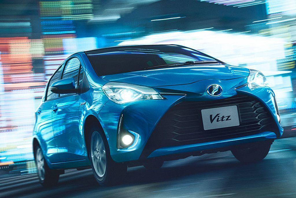 Toyota Vitz。 圖/Toyota提供