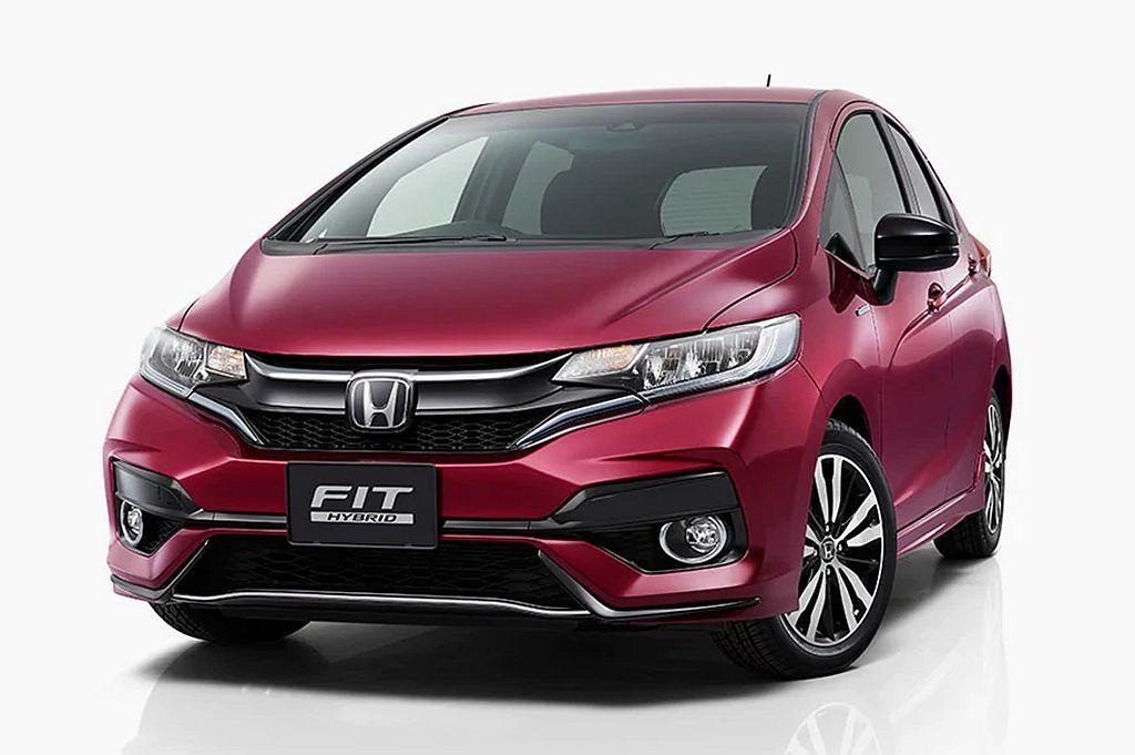 Honda Fit。 圖/Honda提供