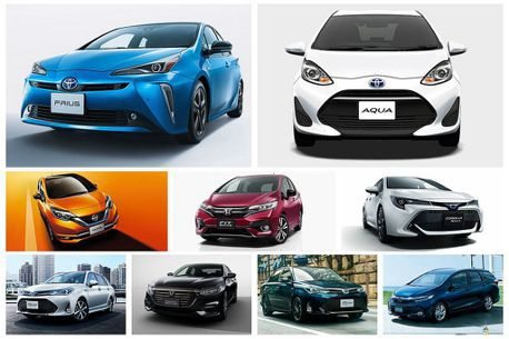 Toyota、Honda仍是最大贏家!日本國土交通省公布省油乘用車排行榜