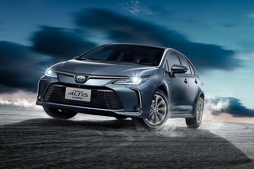 原廠公布Toyota Corolla Altis Hybrid平均油耗為25.8km/L的數據。 圖/Toyota提供
