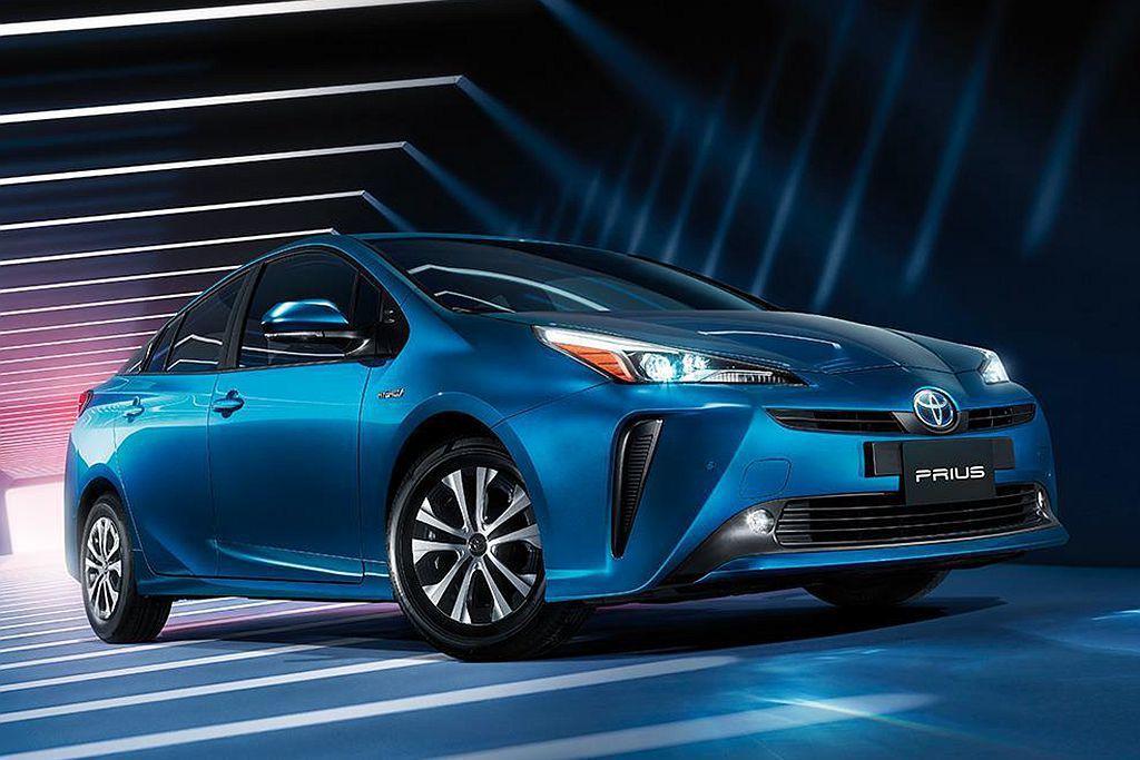 Toyota Prius依舊是全球最知名且熱賣的Hybrid複合動力車款。 圖/Toyota提供