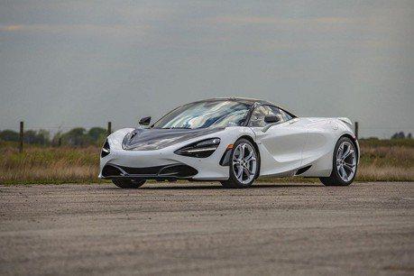 McLaren 720S加持Hennessey套件!輪上馬力809匹達成!