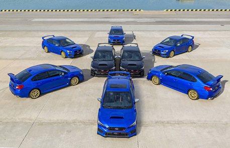 西班牙限定Subaru WRX STI Final Edition!僅此8台!