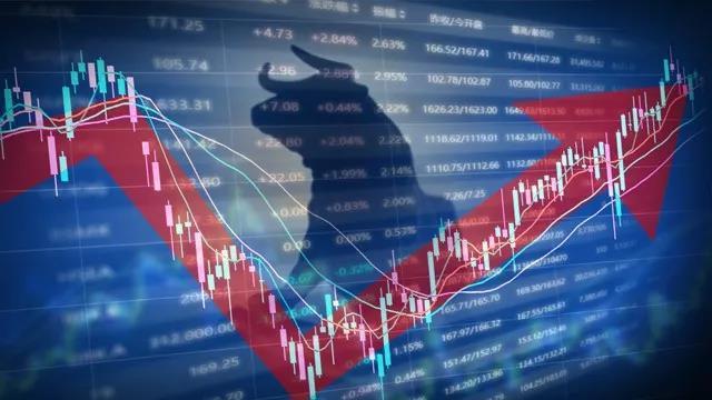 大陸清明小長假前最後一個交易日,陸股氣勢如虹。取自券商中國