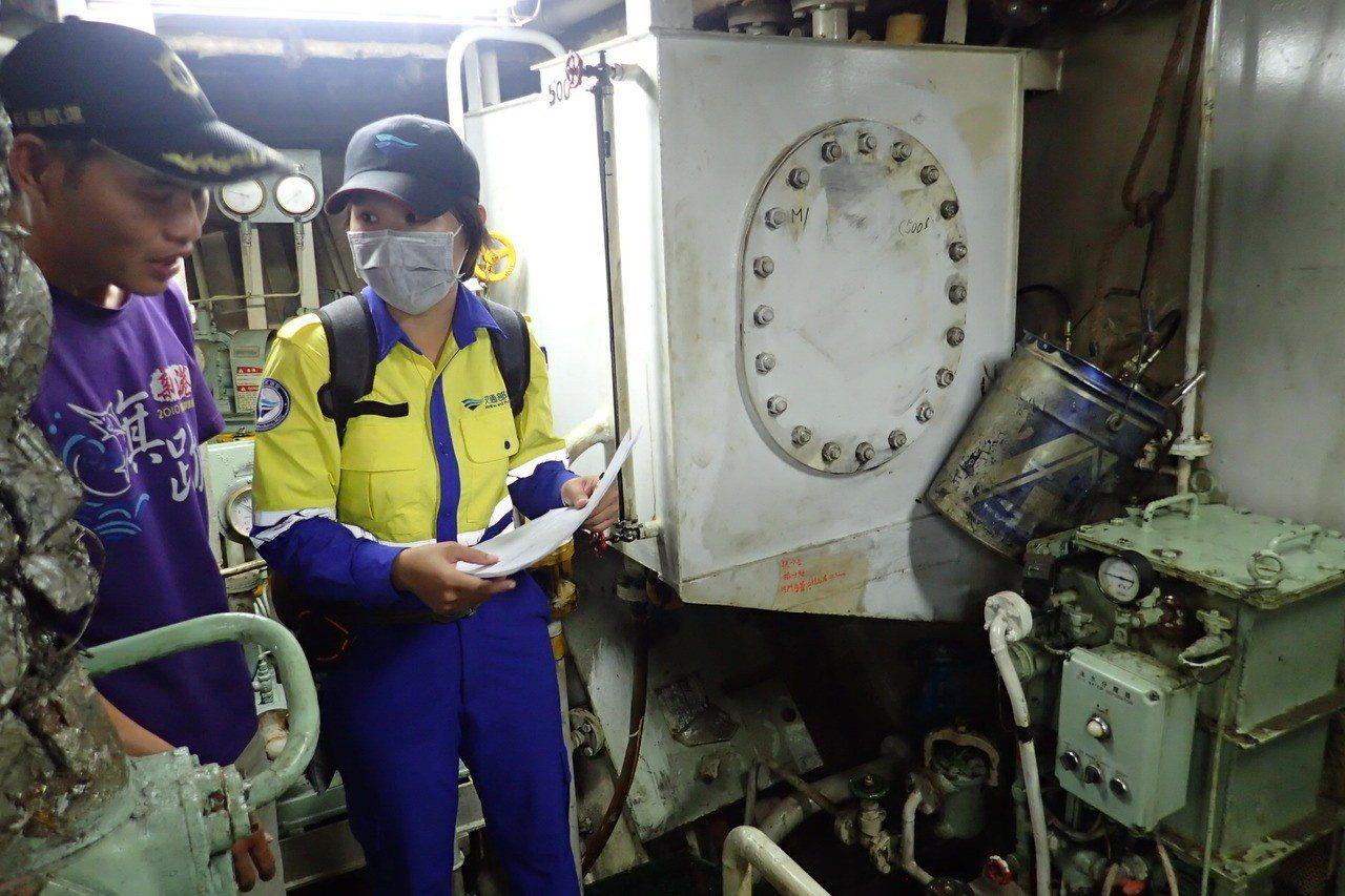 每逢連假,交通部航港局就要抽檢全台載客船舶。圖/航港局提供