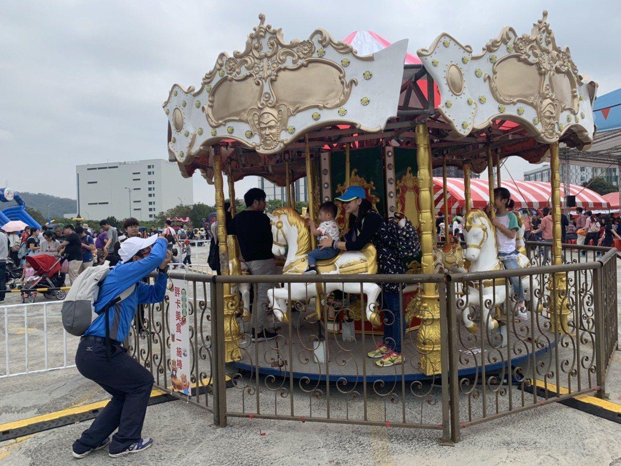 新竹縣竹北市公所從今天起至6日舉辦為期三天的兒童節活動「藝想世界、童趣十竹」活動...