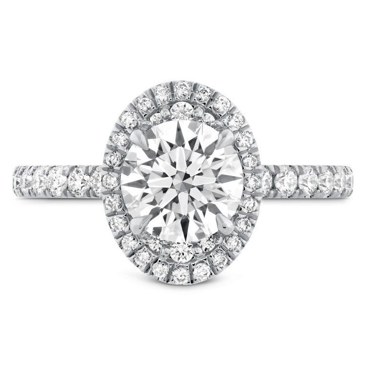 JULIETTE戒指,鉑金鑲嵌主鑽約2.09克拉,211萬8,000元。圖/HE...