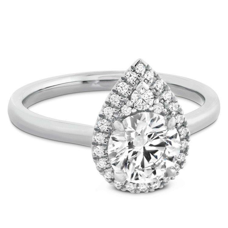 JULIETTE戒指,鉑金鑲嵌主鑽約2.02克拉,198萬6,000元。圖/HE...