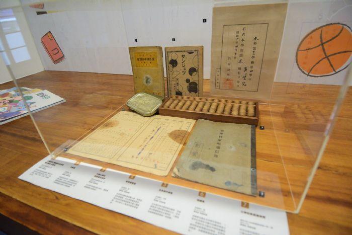壢小故事森林保有日據時期的文物。圖/桃園市文化局提供