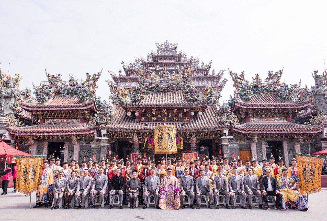 國內最大的財神祖廟武德宮今年完成地藏王殿安座,以保眾信安康。記者蔡維斌/翻攝