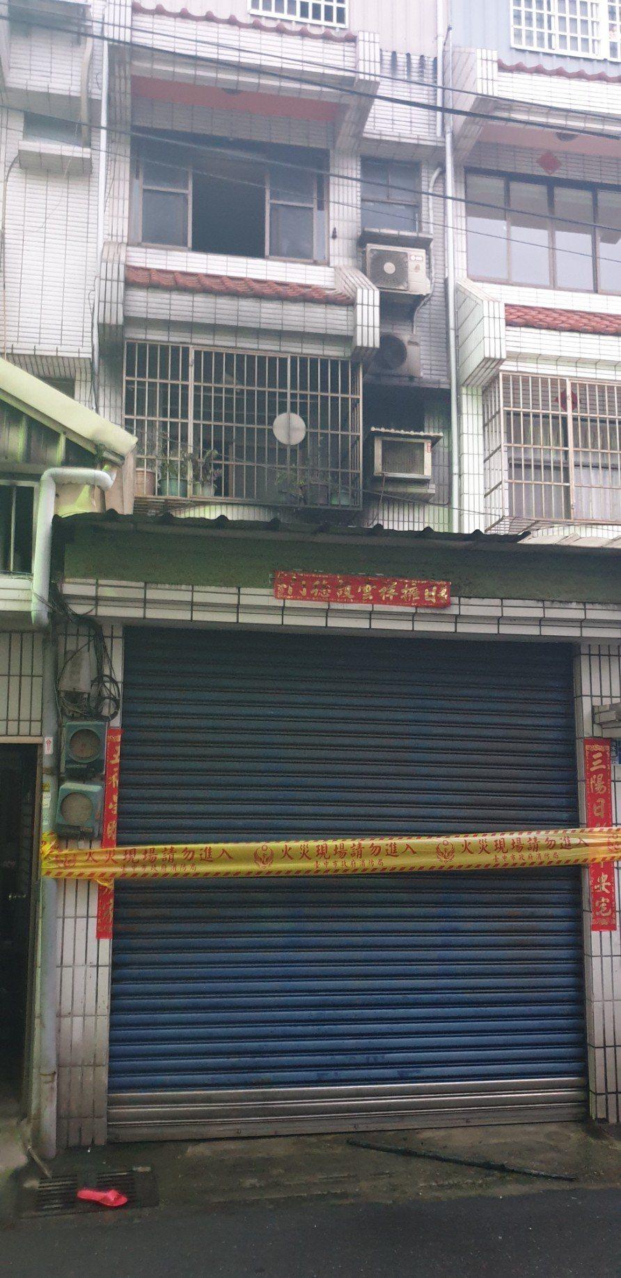 台中市清水區日前發生民宅大火,2死3重傷。記者游振昇/攝影