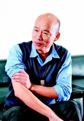 高雄市長韓國瑜自比為令狐沖,為何在「2020黑木崖」劍不出鞘?記者劉學聖/攝影