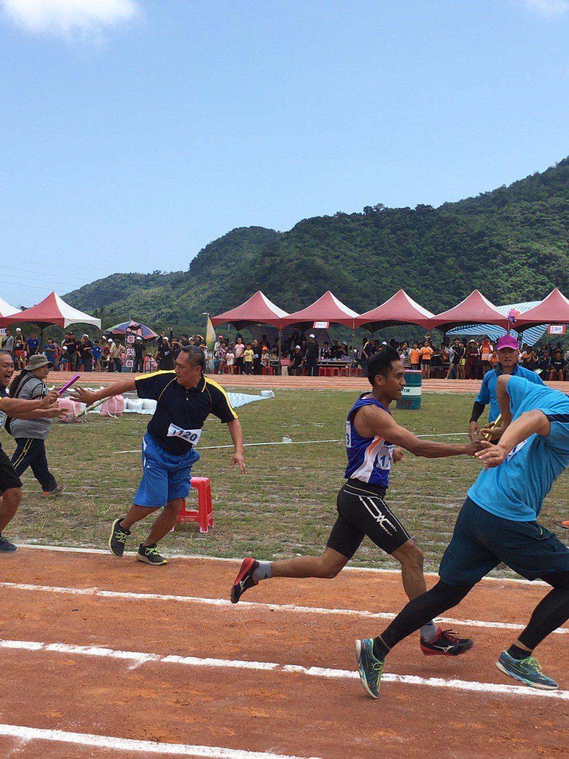 台東南迴達仁鄉及金峰鄉,一連2天舉辦鄉運活動,熱鬧喧騰。記者尤聰光/翻攝
