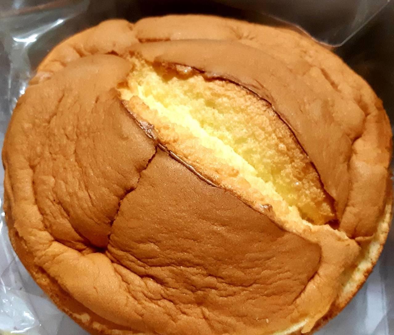 新竹春上古早味布丁蛋糕。圖/柯意如攝影