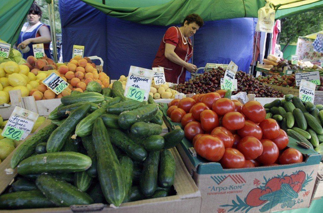 蔬果有助抗氧化,對抗身體發炎。美聯社