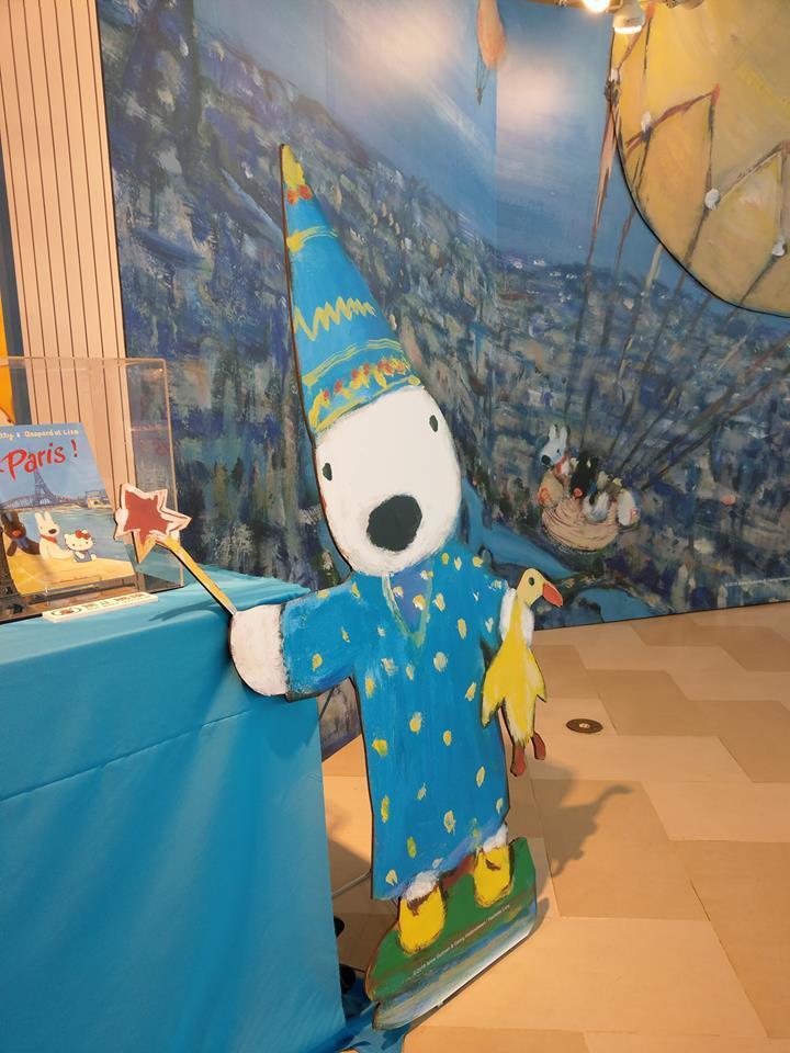 SOGO復興館推出麗莎和卡斯柏繪本世界20th特展。圖/摘自麗莎和卡斯柏 Gas...