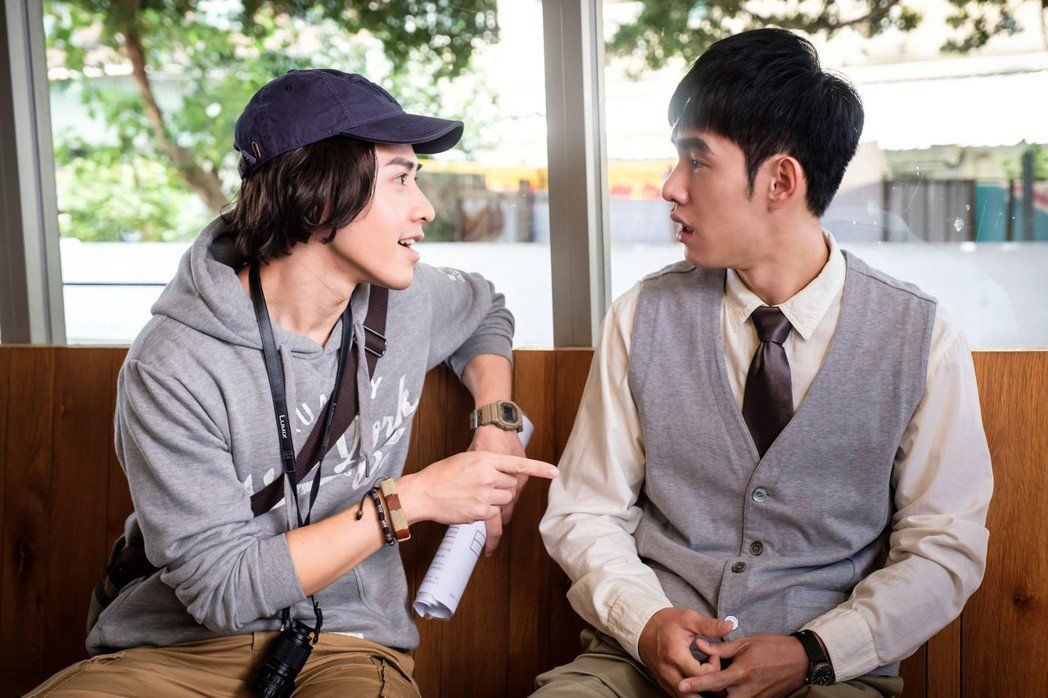 吳岳擎(左)與張書豪  圖/歐銻銻娛樂提供